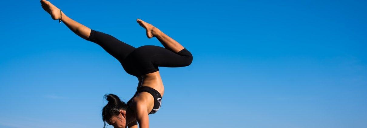 yoga inversion pose