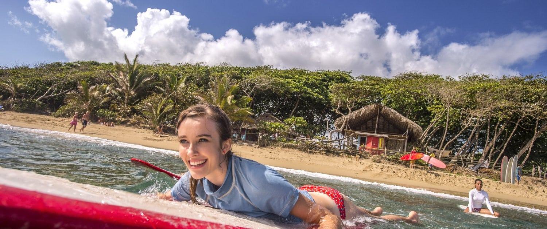 encuentro surf beach cabarete