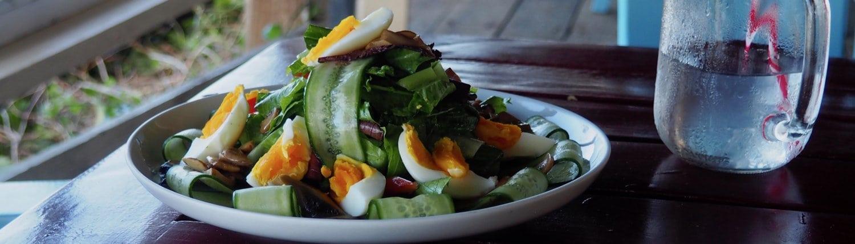 farm fresh organic salad conscious eating