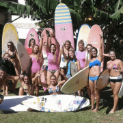 women's yoga surf camp