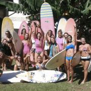 women's yoga surf camp