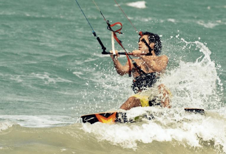 yoga kiteboarding retreat