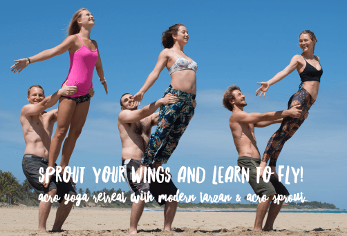 Sprout your wings and learn to fly!