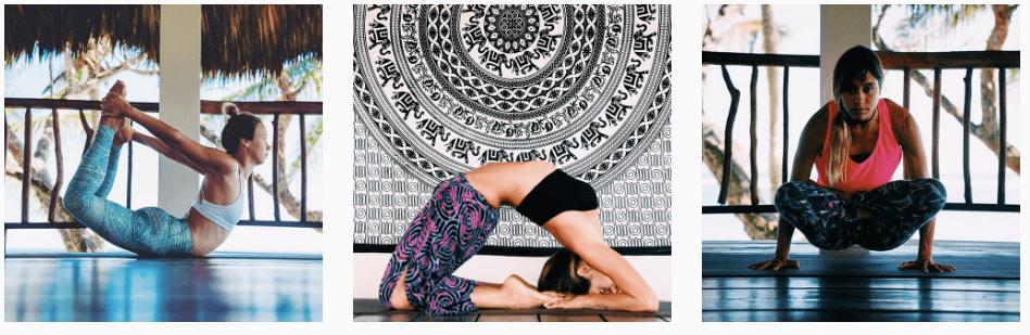 womens yoga surf