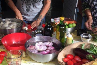 Maria at Clorofila: For the Love of Veggies