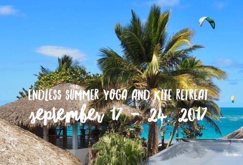 Endless Summer Yoga and Kite Retreat
