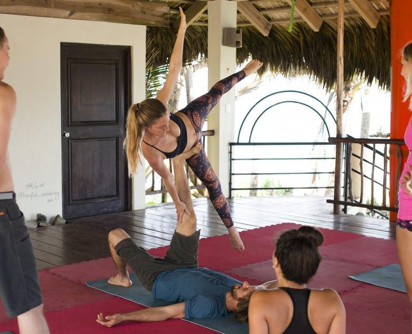 acro yoga cabarete yoga loft extreme hotel