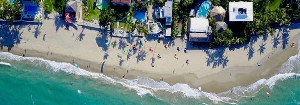 kitebeach view from above