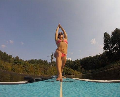 SUP Yoga The Yoga Loft at eXtreme Hotel