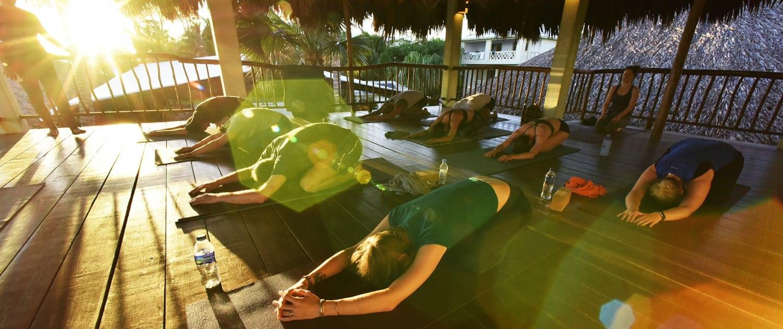 new years retreat at the yoga loft cabarete