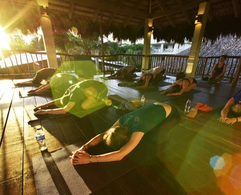 new years retreat at the yoga loft cabarete