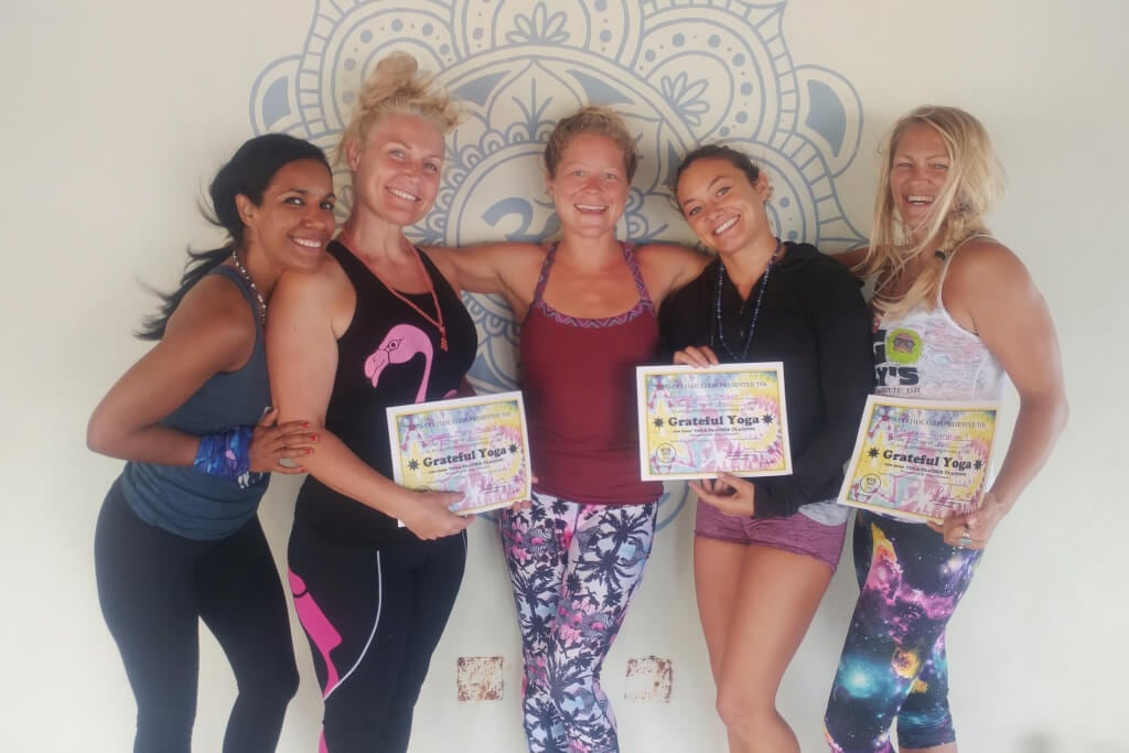 group picture YTT Yoga Loft Cabarete 2