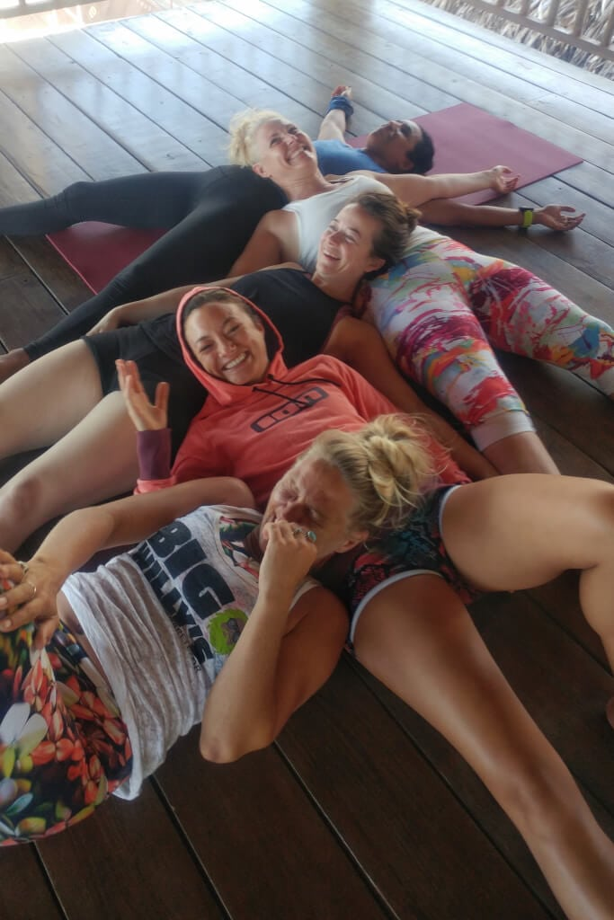 group picture Yoga Loft Cabarete Teacher Training 2
