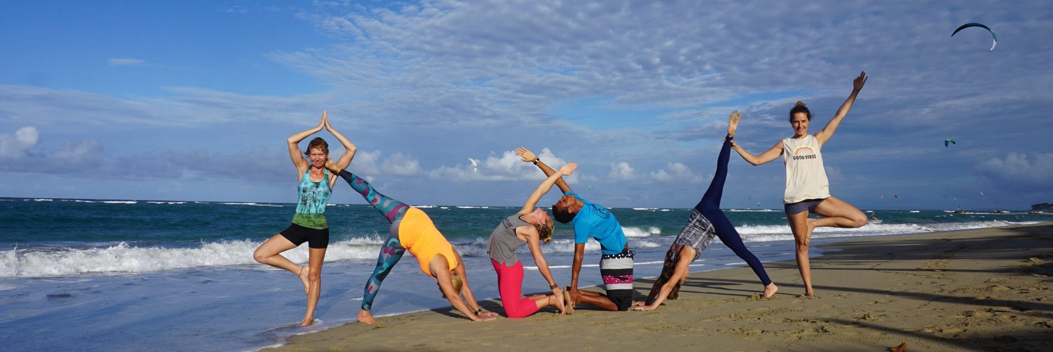 the yoga loft at kite beach in Cabarete Dominican Republic
