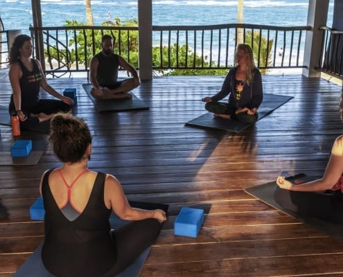 yoga loft cabarete - caribbean yoga - yoga is not fot
