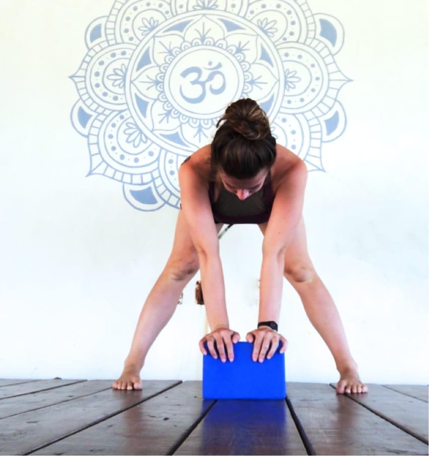 teaching yoga- it's okay to use blocks - yoga loft cabarete