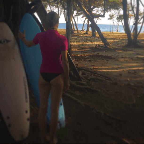 yoga post-surf - dominican republic