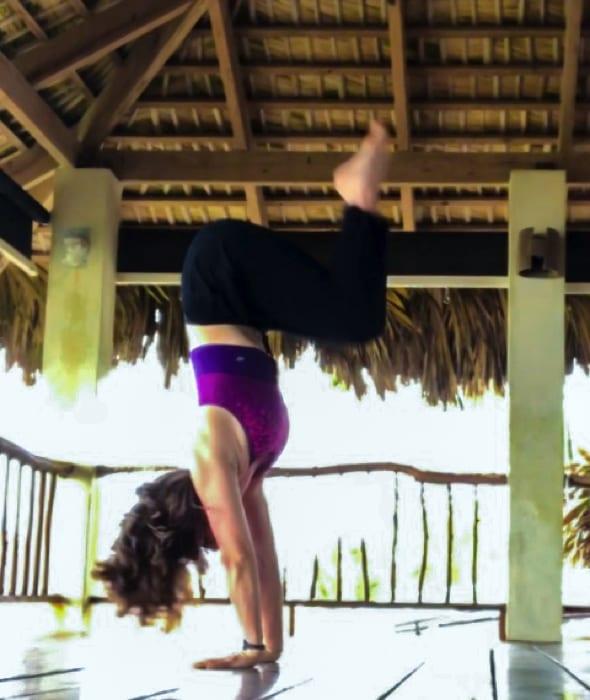 handstand - the yoga loft - cabarete - start a handstand practice