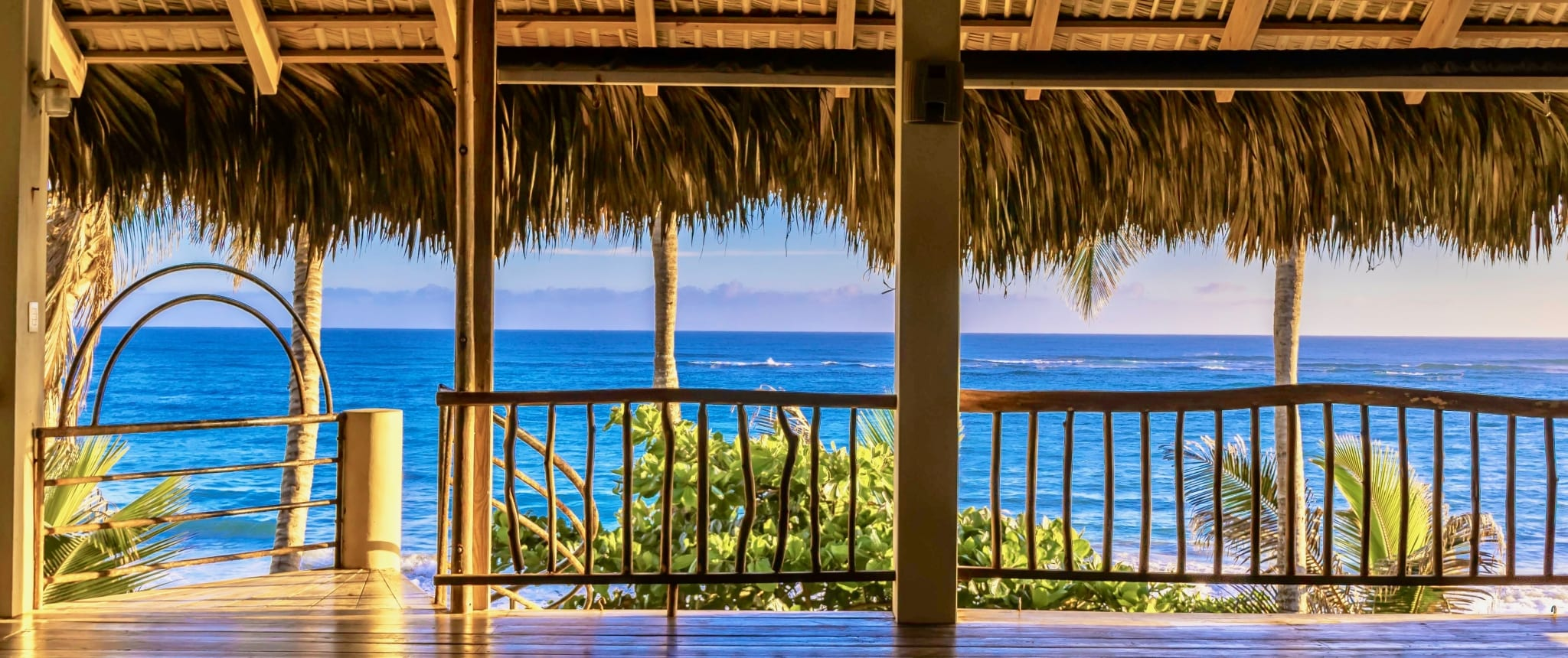 view from the yoga loft cabarete