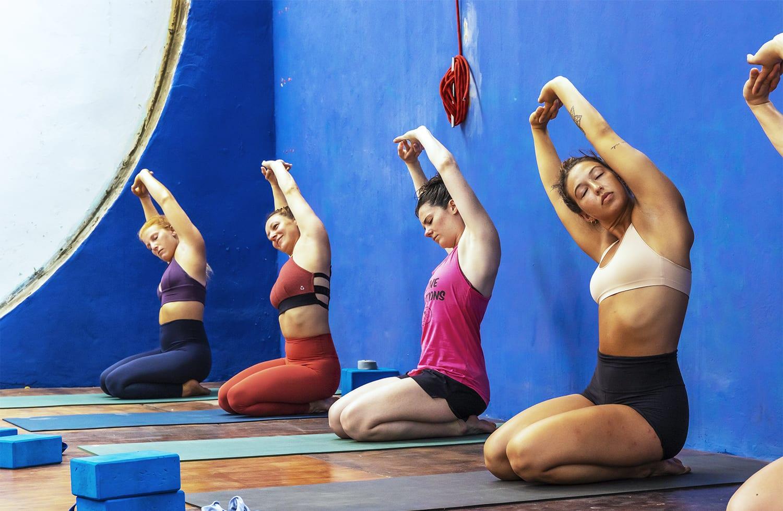 yoga practice - the yoga loft cabarete - caribbean yoga retreat