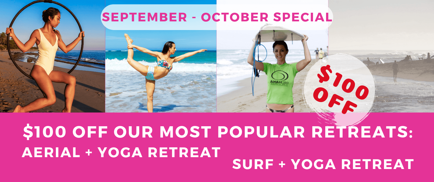 September - October Deals on our most popular Yoga Retreats