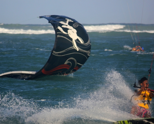 Kiteboarding and Yoga at The Yoga Loft