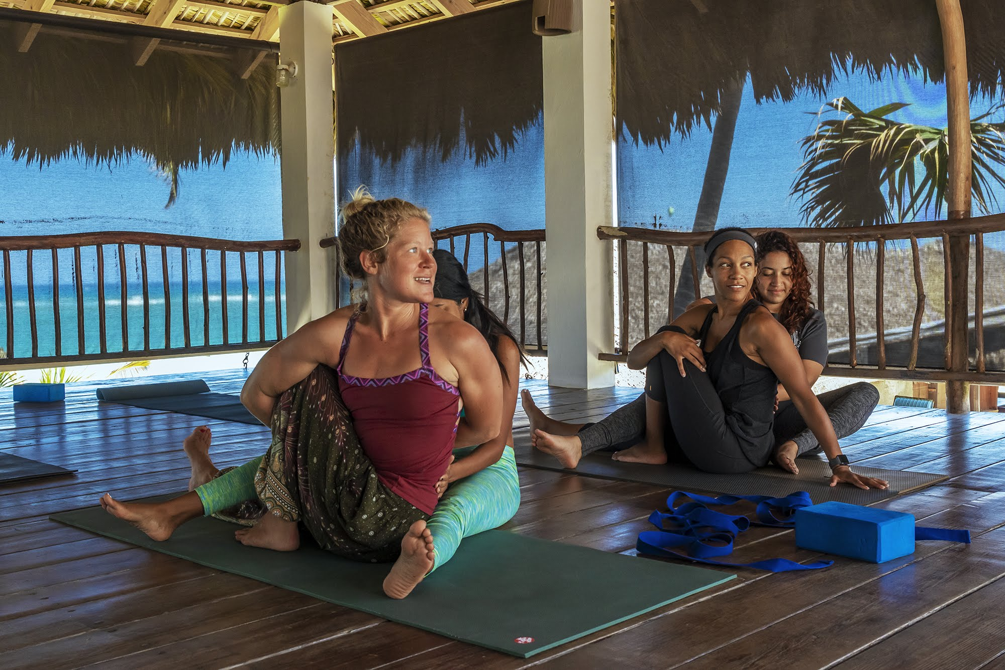 Stunning Caribbean Beachfront Location The Yoga Loft Cabarete Dominican Republic