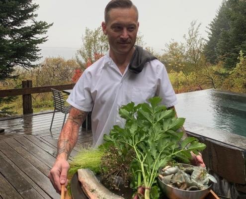 Nicolas Zahasky, the Retreat Chef